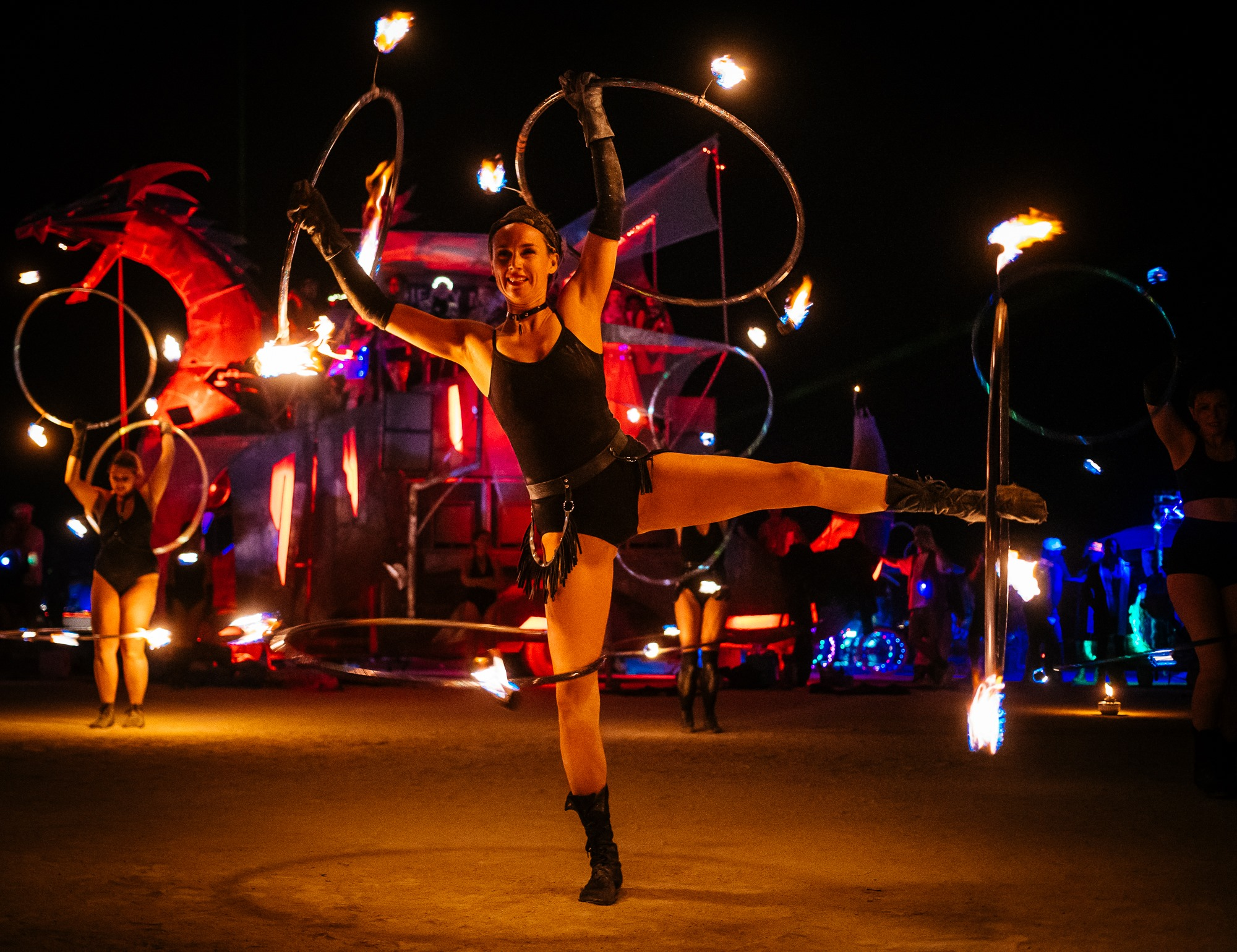 Fire Performers Toronto Header